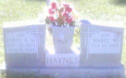 Leroy Richard Haynes, Sr