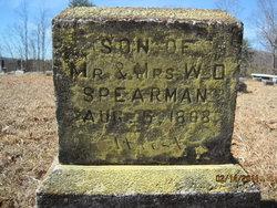 Infant Son Spearman