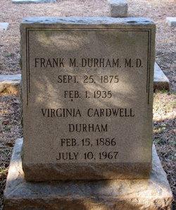 Virginia <I>Cardwell</I> Durham