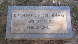 Kathleen Helen <I>Carter</I> Durham