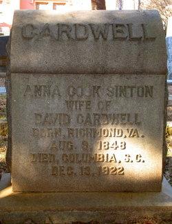 Anna Cook <I>Sinton</I> Cardwell