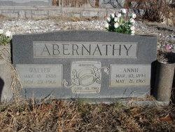 Annie <I>Bishop</I> Abernathy
