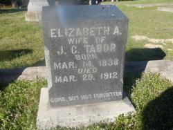 Elizabeth A <I>Sands</I> Tabor