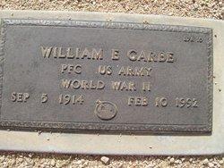 William E Garbe