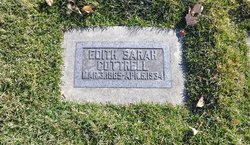 Edith Sarah <I>Layton</I> Cottrell