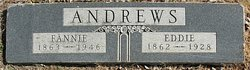 """Frances Caroline """"Fannie"""" <I>Newton</I> Andrews"""