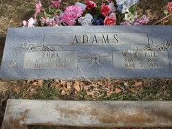 Emma Melinda <I>Calvin</I> Adams