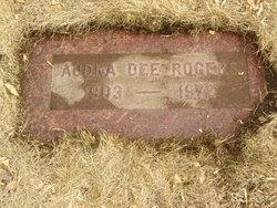 """Audra Dee """"Mervine"""" <I>Willis</I> Rogers"""