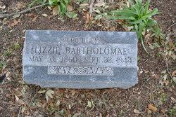 """Elise """"Lizzie"""" <I>Schuchardt</I> Bartholomae"""