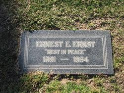 Ernest Edward Ernst
