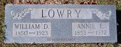Annie Elizabeth <I>Whitman</I> Lowry
