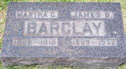 "James Daniel ""Jim"" Barclay"