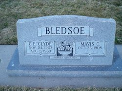 "Claude E ""Clyde"" Bledsoe"