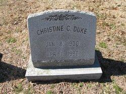 Christine C. <I>Copeland</I> Duke