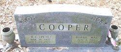 Robbie Mae <I>Hudson</I> Cooper