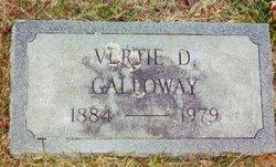 "Virginia Maude ""Vertie"" <I>DeVault</I> Galloway"