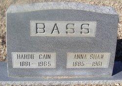 Anna Shaw <I>Garrison</I> Bass