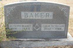 Ella <I>Morgan</I> Baker