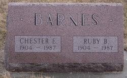 Ruby B Barnes