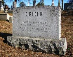Sarah Catherine <I>Spangler</I> Crider