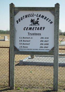 Boutwell-Lambeth Cemetery