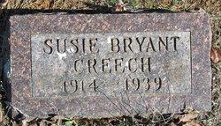 Susie <I>Bryant</I> Creech