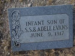 Infant Son Evans