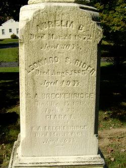 Clara L. <I>Rider</I> Breckenridge