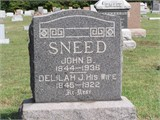 Delilah Jane <I>Wright</I> Sneed