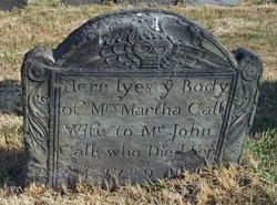 Martha <I>Lowden</I> Call