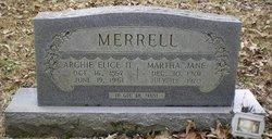 Archie Elic Merrell