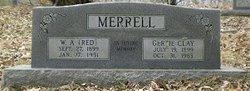 """William Arthur """"Red"""" Merrell"""