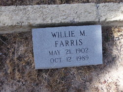 Willie M <I>Givens</I> Farris