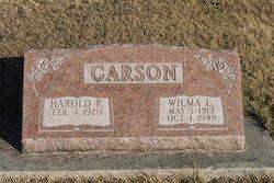 Wilma Louise <I>Mackey</I> Carson