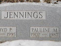 Pauline <I>Merritt</I> Jennings