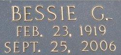 Bessie <I>Goodson</I> Barker