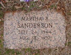 Martha Bell <I>Hill</I> Sanderson