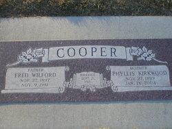 Fred W Cooper
