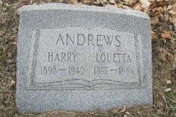 Louetta C <I>Bittner</I> Andrews