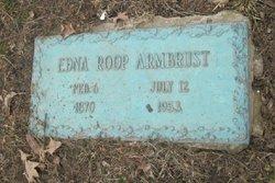 Edna Earl <I>Roop</I> Armbrust