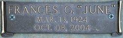 Frances June <I>Goodwin</I> Meeks