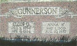 Anna White <I>O'Neil</I> Gunnerson