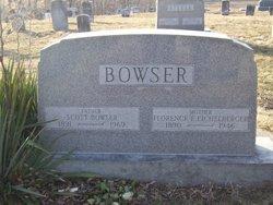 Florence Elmina <I>Eichelberger</I> Bowser