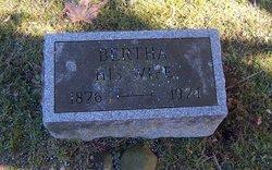 Bertha <I>Warren</I> Brooks