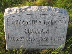 Elizabeth A. <I>Tierney</I> Chaplain