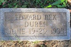 Edward Rex Duren