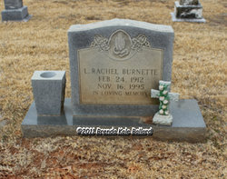 L Rachel <I>Love</I> Burnette
