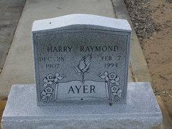 Harry Raymond Ayer