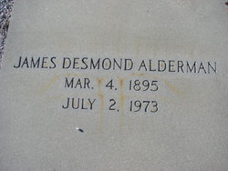 James Desmond Alderman