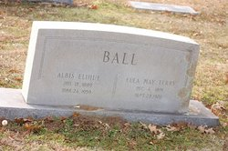 Eula May <I>Terry</I> Ball